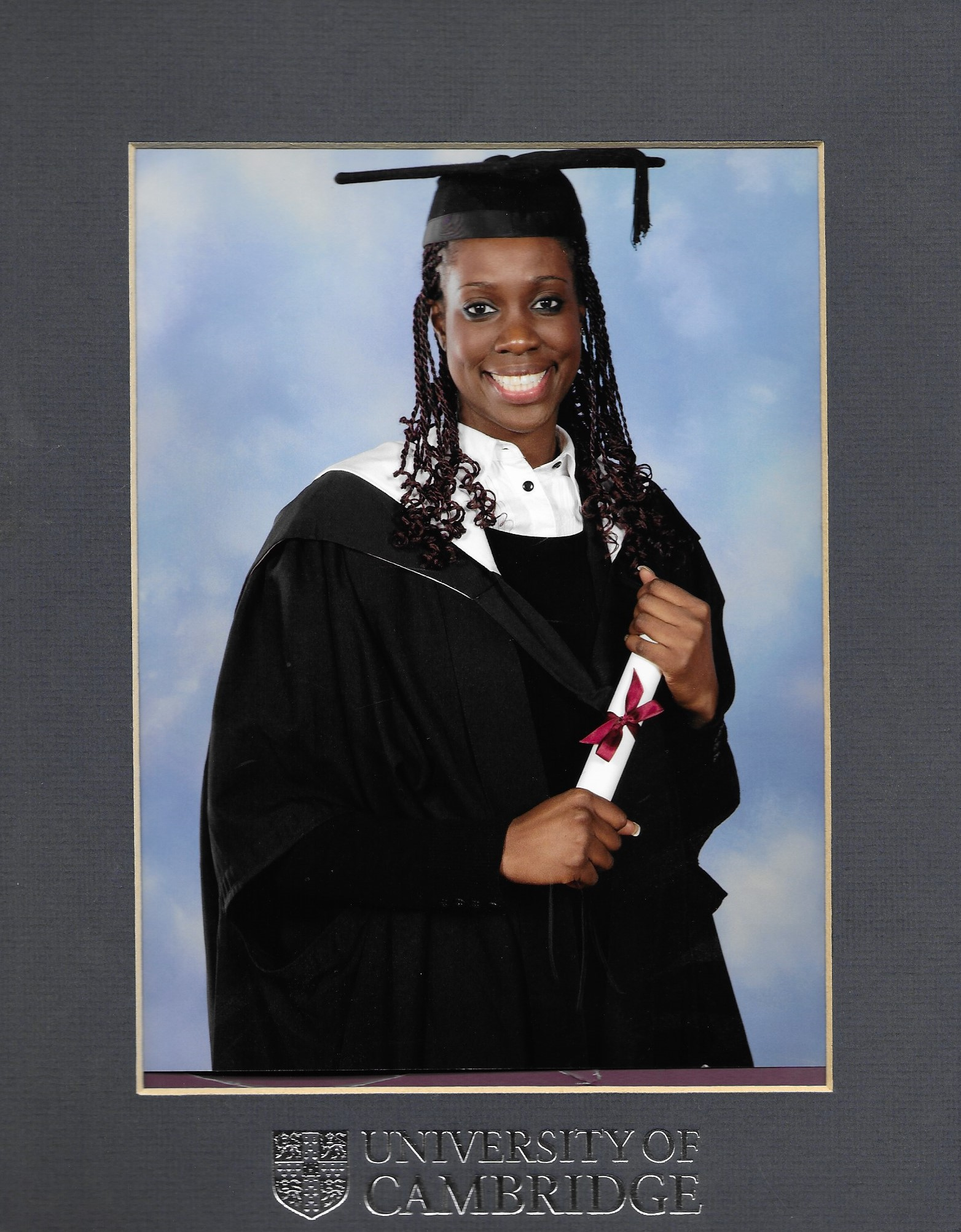 Edleen graduation picture