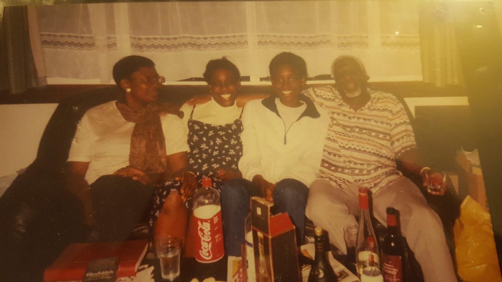 Edleen John's family picture